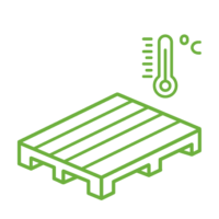 Tractament tèrmic de palets